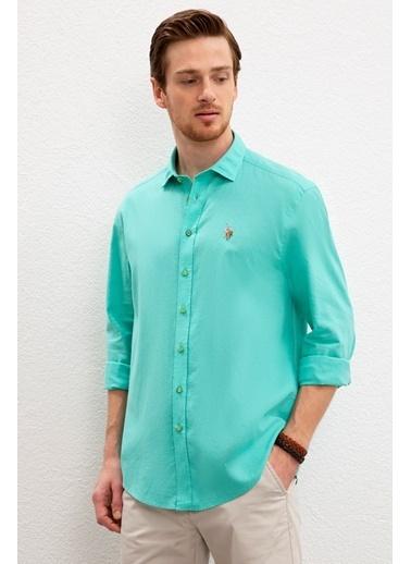 U.S. Polo Assn. Gömlek Yeşil